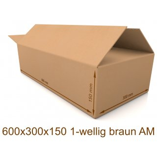 Karton 600x300x150 1-wellig braun AM